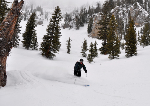 Skiing in Montana - Uncrowded