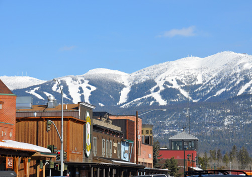 Whitefish Ski Resort Montana