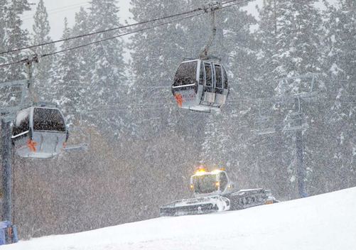 The lift infrastructure at Northstar is impressive