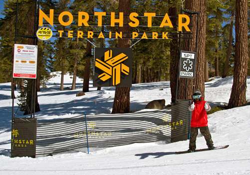 The terrain parks are a strength of Northstar CA