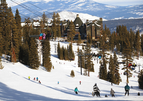 Ritz Carlton Lake Tahoe: luxury ski-in ski-out Northstar hotel