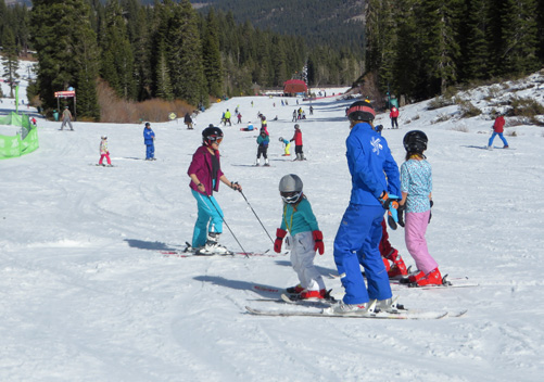 The Northstar ski school is highly regarded