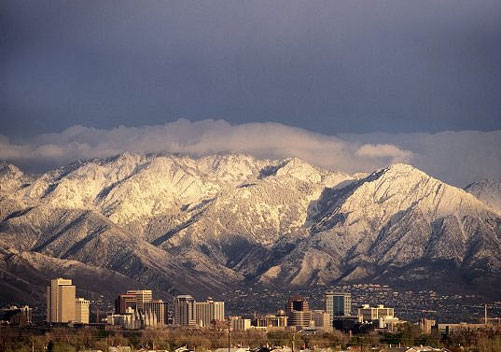 Gateway to various ski resorts: Salt Lake City