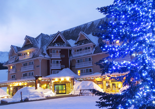 Selkirk Lodge: ski in ski out accommodation at Schweitzer