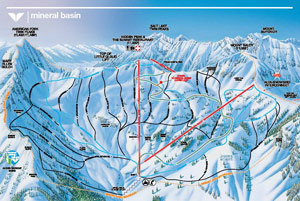 Mineral Basin Trail Map