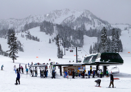 Stevens Pass Ski Resort WA