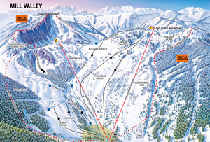 Stevens Pass Millvalley Trail Map