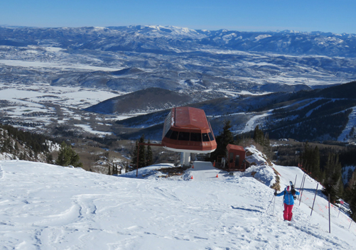 Canyons Ski Resort has some great side-country terrain