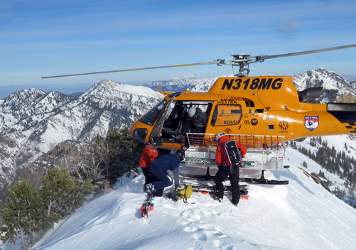Heli skiing with Powderbird is amazing!