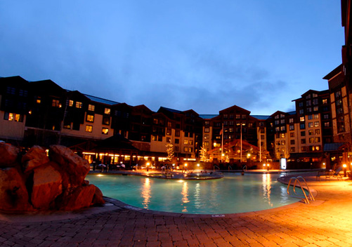 Canyons lodging includes hotel rooms and condos