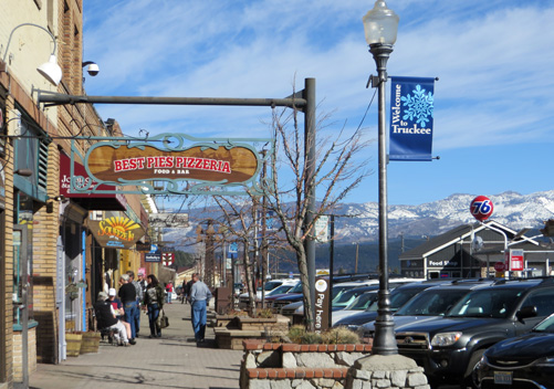 Main Street of Truckee CA