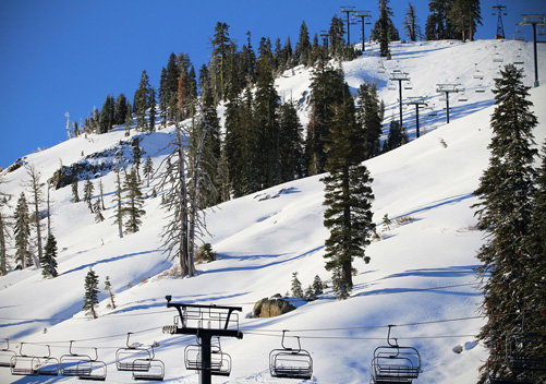 Sugar Bowl is one of the Truckee ski resorts