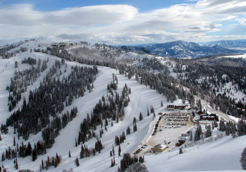 Powder Mountain Utah - Uncrowded Slopes