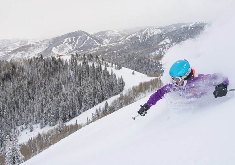 Alta - one of the top rated Utah ski resorts for powder hounds