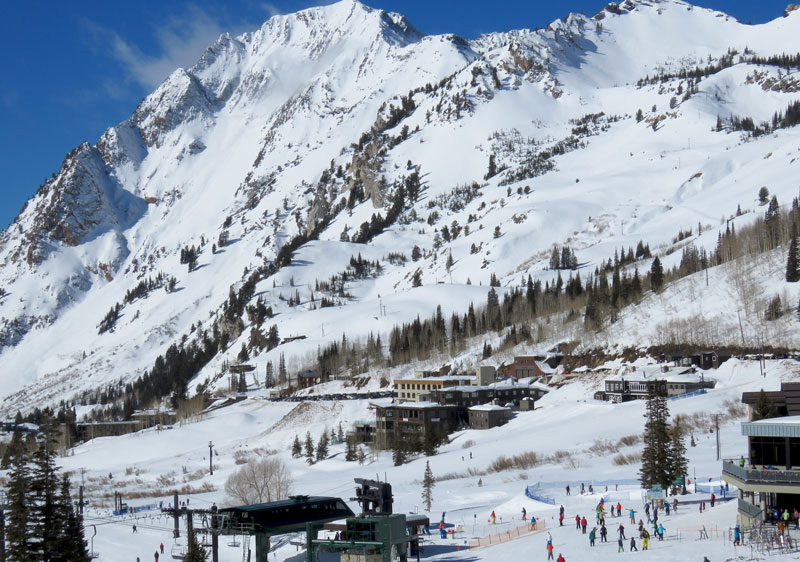 Solitude is also rated #3 best overall ski resort in Utah