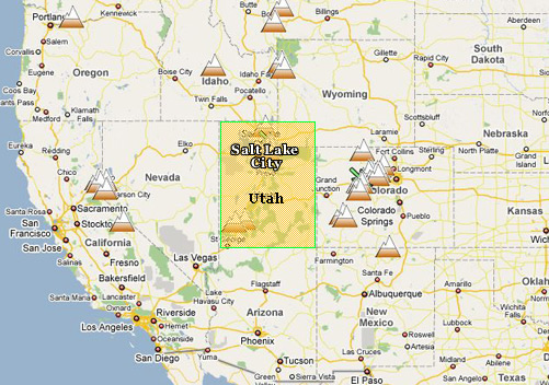 Salt Lake City On Us Map.Salt Lake City Flights Salt Lake City Travel